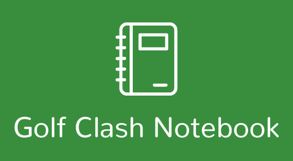 Golf Clash Notebook